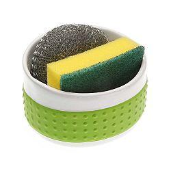 Zelený stojan na pomôcky na umývanie Versa