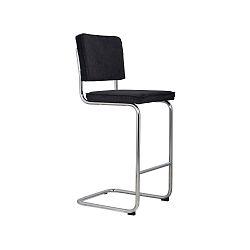 Žltá barová stolička Zuiver Ridge Rib