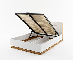 DENTRO manželská posteľ s ÚP a LED svetlami DT-02
