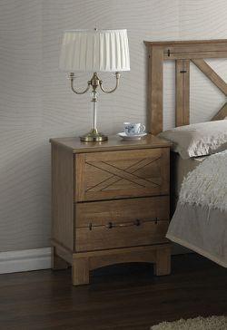 Drevený nočný stolík TEXAS