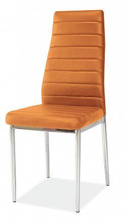 Jedálenská stolička H-261, oranžová