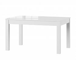 JOWISZ jedálenský stôl s rozkladom, biely lesk