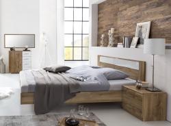 Manželská posteľ PAMELA 291 S08 rozmer 140x200