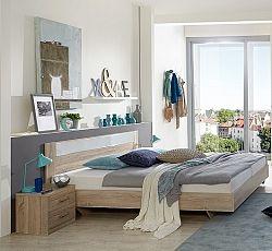 Manželská posteľ PAMELA 351 S07 rozmer 160x200