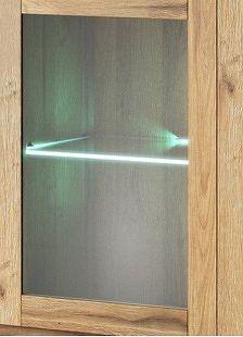 NajlacnejsiNabytok ALABAMA II 1 LED osvetlenie, biele 2400AN01