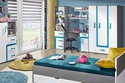 NajlacnejsiNabytok APETITO detská izba na mieru, modrá