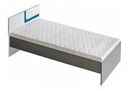 NajlacnejsiNabytok APETITO posteľ A12, modrá