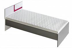 NajlacnejsiNabytok APETITO posteľ A12, ružová
