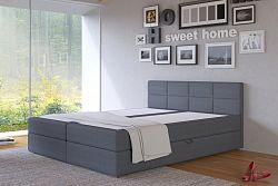 NajlacnejsiNabytok ASTI 160 čalúnená posteľ, Inari 96