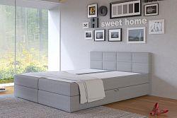 NajlacnejsiNabytok ASTI 180 čalúnená posteľ, Inari 91