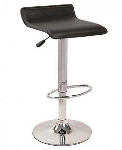 NajlacnejsiNabytok Barová stolička A-044, čierna