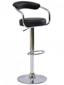 NajlacnejsiNabytok Barová stolička C-231, čierna