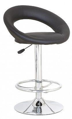 NajlacnejsiNabytok Barová stolička C-300, čierna