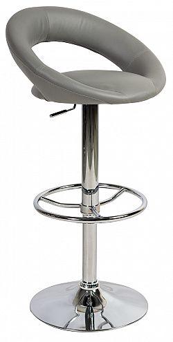 NajlacnejsiNabytok Barová stolička C-300, šedá