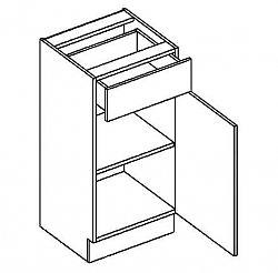 NajlacnejsiNabytok BLANKA dolná skrinka D40S1
