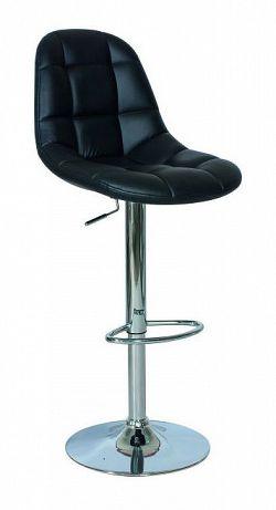 NajlacnejsiNabytok C-198 barová stolička, čierna