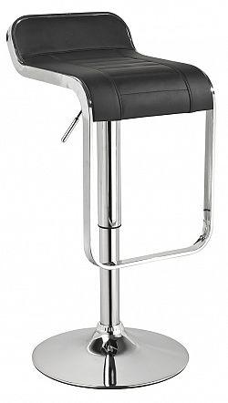 NajlacnejsiNabytok C-621 barová stolička, čierna