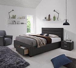 NajlacnejsiNabytok CAREN 180 čalúnená posteľ s úložným priestorom
