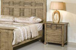 NajlacnejsiNabytok CHARLESTON drevený nočný stolík »