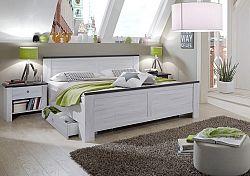 NajlacnejsiNabytok CHATEAU 980 297 posteľ so zásuvkami 180