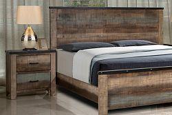 NajlacnejsiNabytok COLORADO drevený nočný stolík