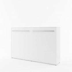 NajlacnejsiNabytok CONCEPT PRO CP-05 sklápacia posteľ, biela
