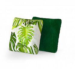 NajlacnejsiNabytok Dekoračný set 2 ks vankúšov zelený