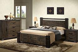NajlacnejsiNabytok DI-TAVOLA drevená manželská posteľ 180