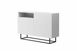 NajlacnejsiNabytok Dizajnová komoda ENJOY EK120 biela