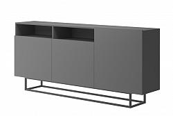 NajlacnejsiNabytok Dizajnová komoda ENJOY EK180 grafit