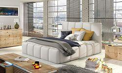 NajlacnejsiNabytok EDVIGE čalúnená posteľ, Soft 17