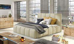 NajlacnejsiNabytok EDVIGE čalúnená posteľ, Soft 33