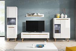 NajlacnejsiNabytok Elegantná obývacia stena NORDI