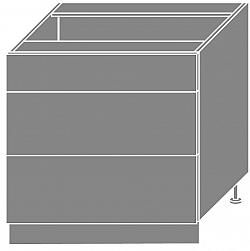 NajlacnejsiNabytok EMPORIUM dolná skrinka D3M80, korpus biely »
