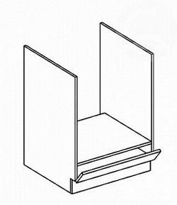 NajlacnejsiNabytok FALA skrinka na vstavanú rúru DK60