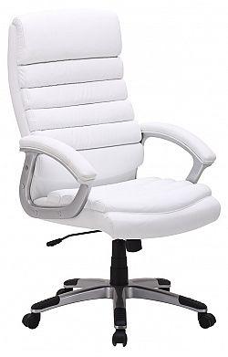 NajlacnejsiNabytok Kancelárske kreslo Q-087, biele