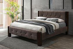 NajlacnejsiNabytok KARLSRUHE 180 manželská čalúnená posteľ