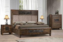 NajlacnejsiNabytok LUXOR drevená manželská posteľ 180 »