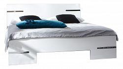 NajlacnejsiNabytok Manželská posteľ ANNA 293 alpská biela 180x200 cm