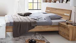 NajlacnejsiNabytok Manželská posteľ ANNA 293 dub planked 180x200 cm