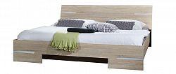 NajlacnejsiNabytok Manželská posteľ ANNA 351 dub 160x200 cm
