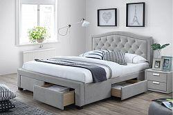 NajlacnejsiNabytok Manželská posteľ ELEANOR 180