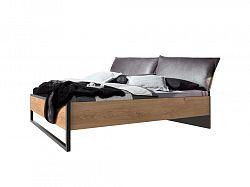 NajlacnejsiNabytok Manželská posteľ s čalúnením 160x200 DETROIT 302