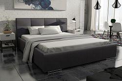 NajlacnejsiNabytok MEDIOLAN čalúnená posteľ 160 - Fokus 20