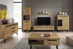 NajlacnejsiNabytok Moderná obývačka NORDI dub artisan