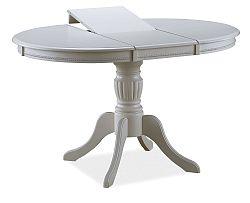 NajlacnejsiNabytok OLIVIA jedálenský stôl rozkladací, biely