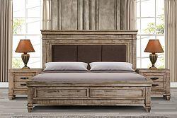 NajlacnejsiNabytok OLYMPIA drevená manželská posteľ 180