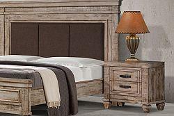 NajlacnejsiNabytok OLYMPIA drevený nočný stolík