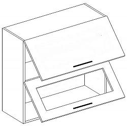 NajlacnejsiNabytok POSNANIA dvojvýklopná skrinka W60OK-SP