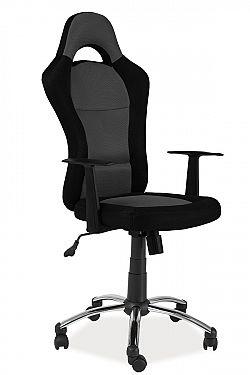 NajlacnejsiNabytok Q-039 kancelárske kreslo, čierna